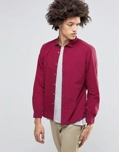 Рубашка в клетку Esprit - Красный