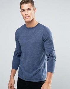 Джемпер с круглым вырезом Esprit - Темно-синий