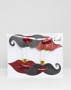 Свистки для вечеринки в виде усов Meri Meri - Мульти
