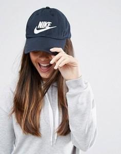 Выбеленная кепка Nike Futura H86 - Черный