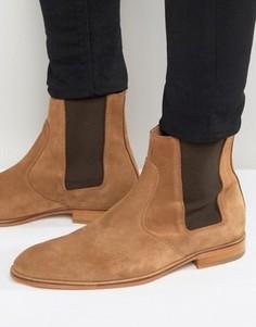 Замшевые ботинки челси Selected Homme Dexter - Рыжий