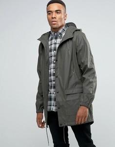 Длинная водонепроницаемая куртка с капюшоном D-Struct - Золотой