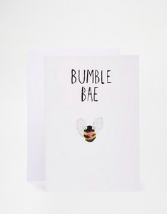 Открытка Jolly Awesome Bumble Bae - Мульти