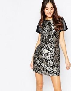 Жаккардовое платье Sugarhill Boutique - Черный