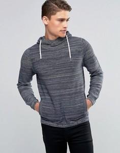 Джемпер с капюшоном Esprit - Темно-синий