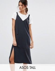 Платье-комбинация ASOS TALL - Серый
