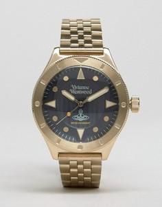Золотистые часы из нержавеющей стали Vivienne Westwood Smithfield VV160NVGD - Золотой