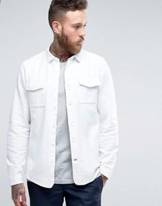 Рубашка слим Hoxton Shirt Company - Белый