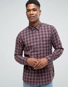Фланелевая рубашка в клетку классического кроя Jack Wills - Красный