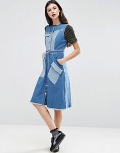 Джинсовое платье House Of Holland - Синий