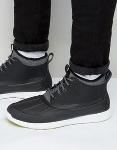 Кроссовки с резиновыми вставками Sperry Sojourn - Черный