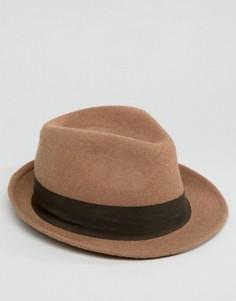 Фетровая шляпа Esprit - Коричневый
