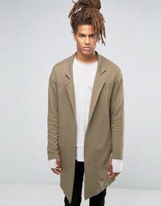 Удлиненный пиджак Black Kaviar - Зеленый