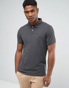 Темно-серая футболка-поло Jack Wills - Серый