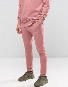 Зауженные спортивные штаны SikSilk - Розовый