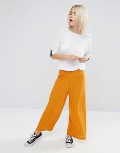 Фактурные трикотажные брюки с широкими штанинами ASOS - Мульти