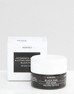 Укрепляющий ночной крем с экстрактом черной сосны Korres 40 мл - Бесцветный