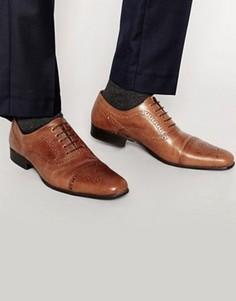 Строгие туфли на шнуровке Red Tape - Рыжий