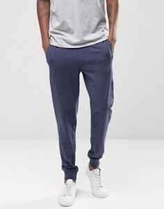 Трикотажные штаны зауженного кроя Troy - Темно-синий