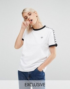 Футболка Fred Perry Archive - Белый