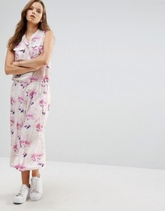 Платье макси с поясом Minimum Moves Freig - Розовый