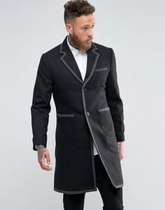 Пальто Rogues of London - Черный