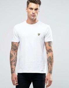Белая футболка с логотипом орла Lyle & Scott - Белый