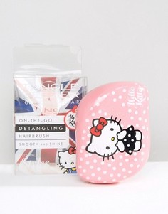 Компактная щетка для распутывания волос Tangle Teezer Hello Kitty - Розовый