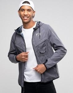 Серая куртка с капюшоном Nike International 802482-021 - Серый