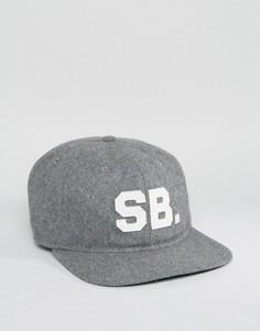 Серая кепка Nike SB Infield Pro 806050-063 - Серый