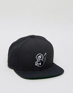 Черная бейсболка с принтом Nike SB 806044-010 - Черный