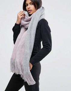 Двусторонний шарф в стиле колор блок ASOS - Мульти