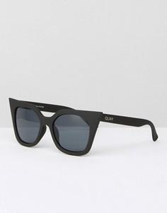 Солнцезащитные очки кошачий глаз Quay Australia Harper - Черный
