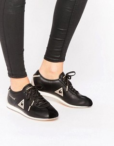 Кроссовки с черной и золотистой отделкой Le Coq Sportif Wendon - Черный
