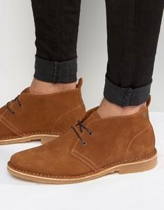 Замшевые ботинки-дезерты Jack & Jones Gobi - Рыжий