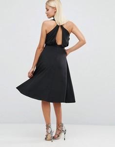 Приталенное платье Hedonia - Черный