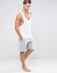 Трикотажные шорты для дома классического кроя Calvin Klein One - Серый
