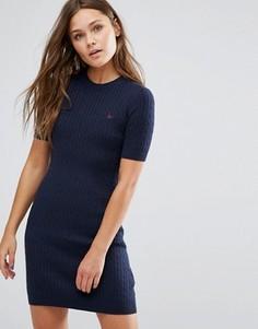 Вязаное платье Jack Wills Knowlden - Темно-синий