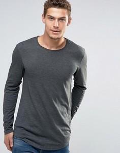 Удлиненный лонгслив Esprit - Серый