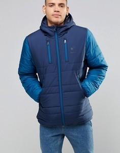 Синяя дутая куртка Reebok AY1251 - Синий