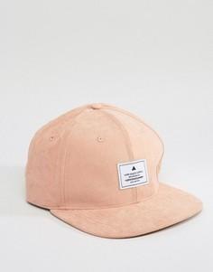 Фактурная бейсболка ASOS - Розовый