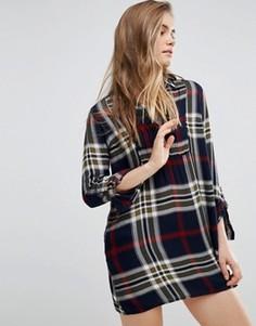 Платье-рубашка Abercrombie & Fitch - Темно-синий