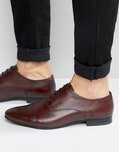Оксфордские туфли Walk London Mark - Красный
