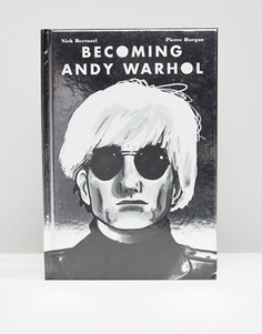 Книга Becoming Andy Warhol - Мульти Books