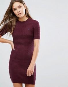 Вязаное платье Jack Wills Knowlden - Красный