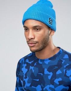 Голубая шапка-бини Nike SB Surplus 804539-435 - Синий