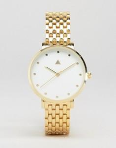 Часы с металлическим браслетом ASOS - Золотой