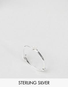 Серебряное кольцо c отделкой ASOS - Серебряный