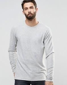 Свитшот из махровой ткани Only & Sons - Серый