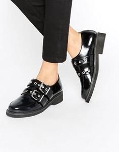 Туфли на плоской подошве ASOS MIST - Черный